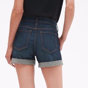 Banana Republic Factory Denim Cuff Jean Shorts